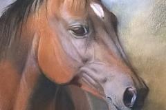 Maraschino - 49cm x 35cm, Pastel - SOLD