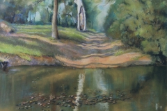 Connors River Crossing, Marylands - 45cm x 32cm, Pastel - Commission