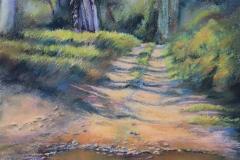 Connors River, Plein Air - Pastel