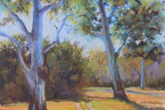 Long Time Standing - 32cm x 22cm, pastel - $580