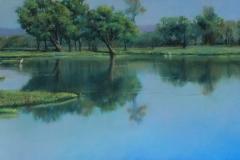 Still Waters - Pastel
