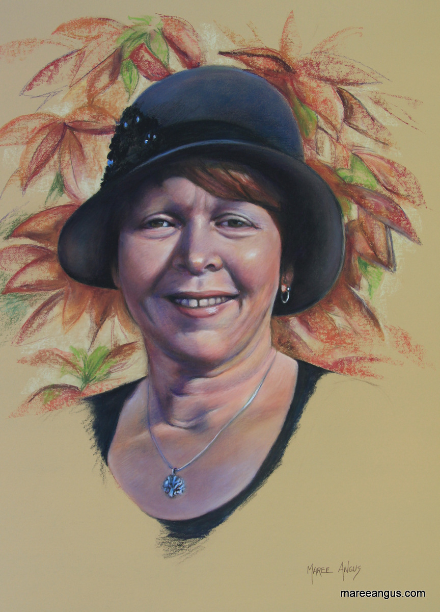 Lee-Ann, 55cm x 40cm, Pastel - Commission