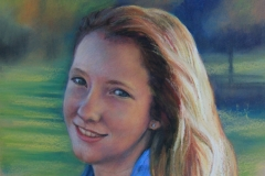 Courtney - 45cm x 32cm, Pastel - Commission