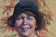 Lee-Ann, 55cm x 40cm, Pastel - Commission