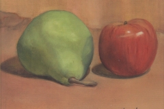 Pear with Apple - Oil